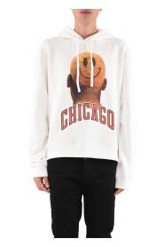 Felpa Whit Chicago Player Smile And Logo