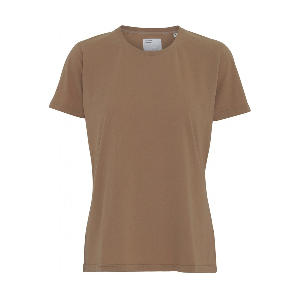 Brown T-shirt  YAYA  T-Skjorter - Dameklær er billig