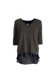 TWINSET FRACOMINA - Size: L, Color: Green