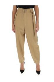 pantalon bouffant taille haute