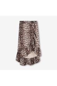 ANIMAL JACQUARD SKIRT