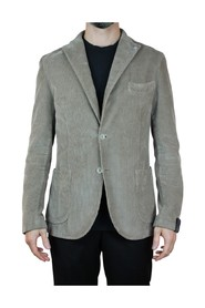 SINGLE-BREASTED PATCH POCKETS JACKET