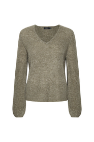 Tuesday V-neck Jumper LS