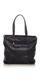 Pre-owned Leather Tote Bag
