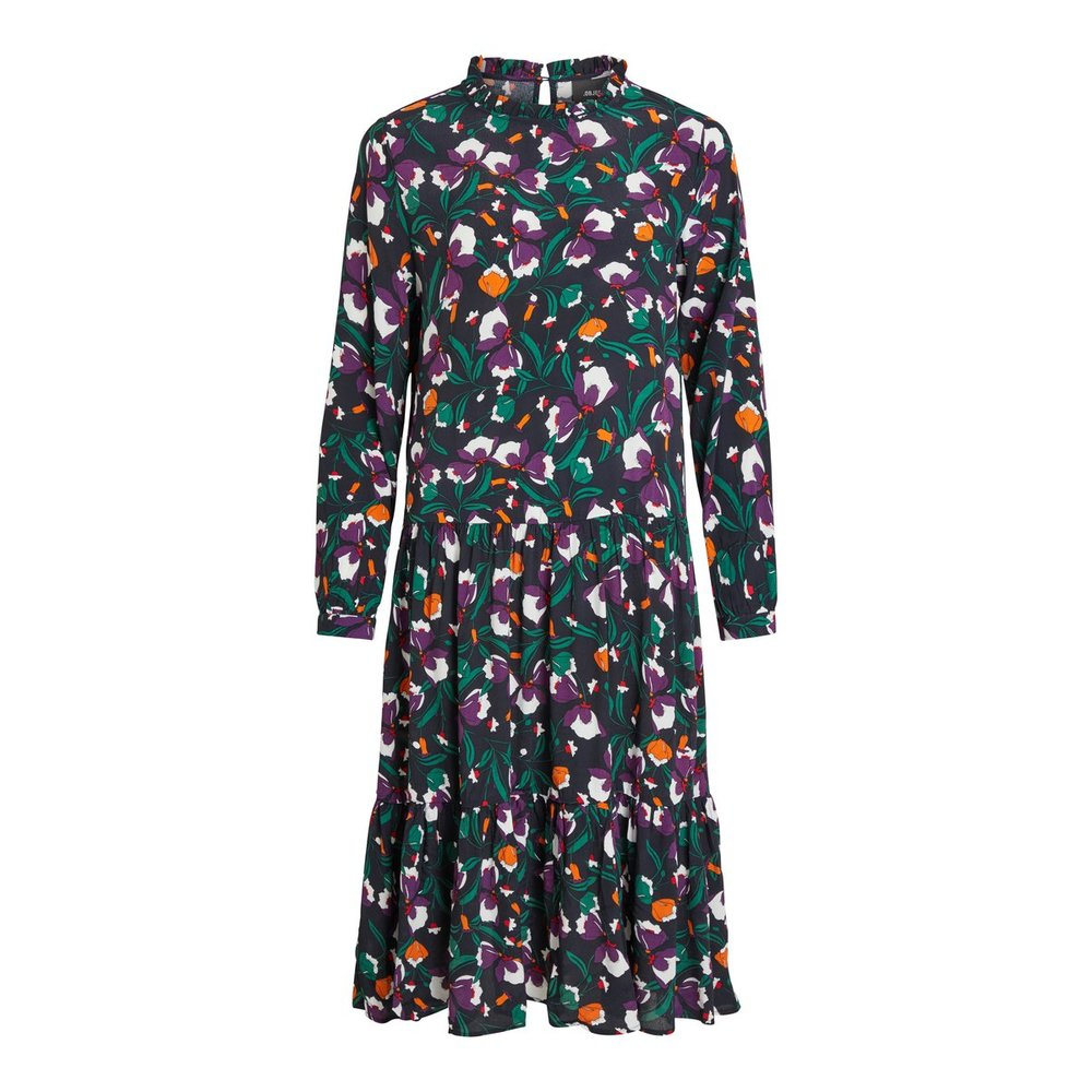 Maxi dress Patterned, long sleeved