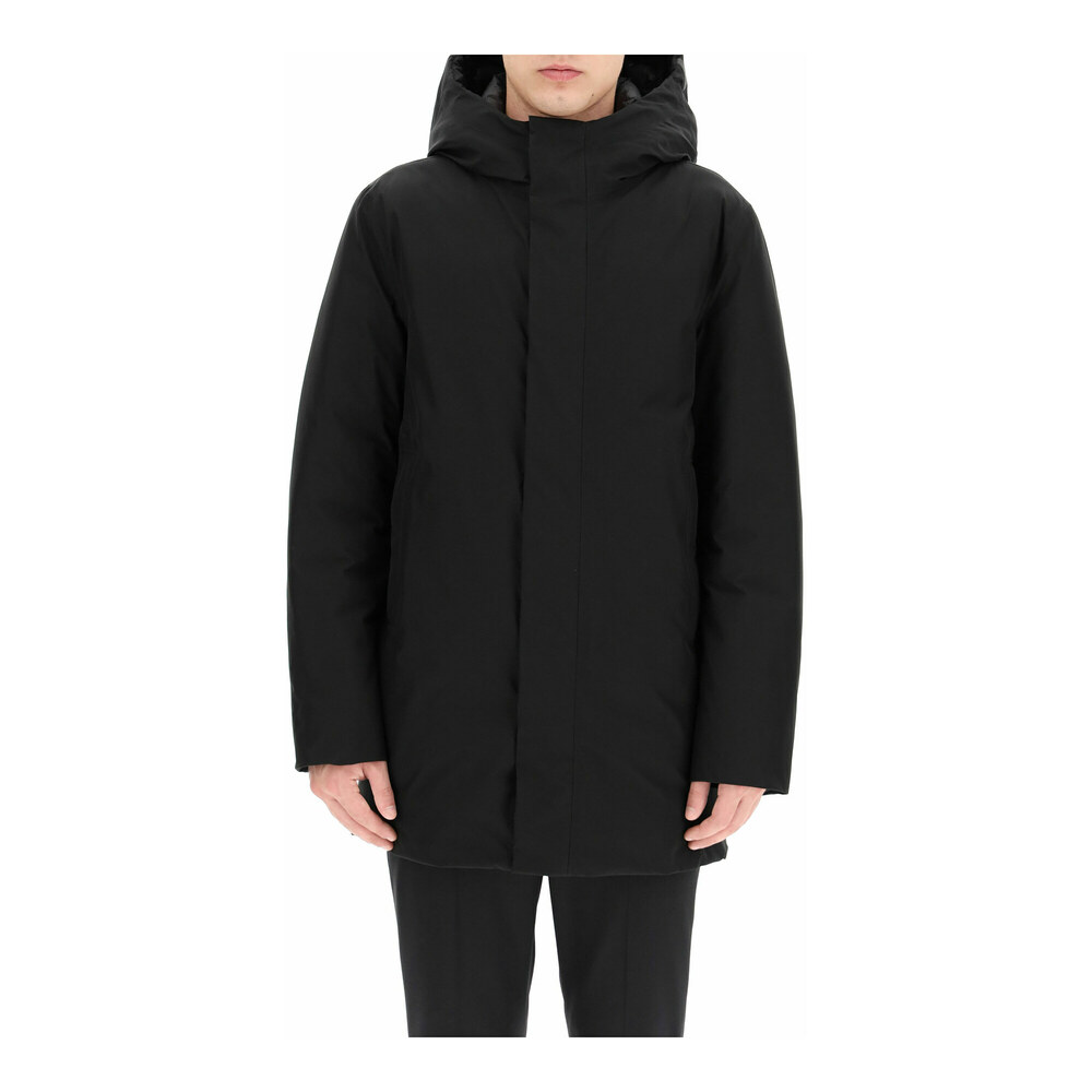 Gore-tex hooded parka