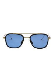 Sunglasses TB-800-B-GLD-NVY-51 B-GLD-NVY