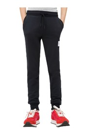 Calvin Klein IB0IB00101 LOGO TERRY PANTS Boy BLACK