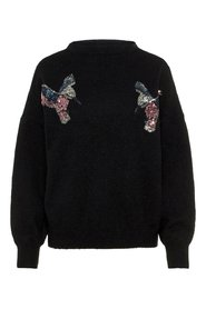 Knitted Pullover Sequined