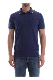 CALVIN KLEIN JEANS J30J306396 PAUL 2 POLO Men BLUE DEPHTS