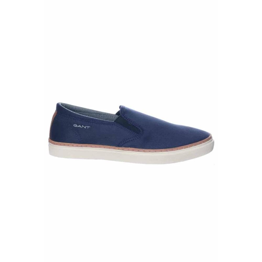 Gant Footwear Bari Tencell Twill Slipin Marine Herrskor
