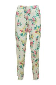 Trousers with Floral Pattern