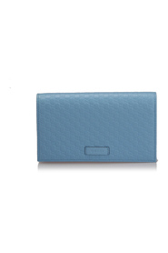 Pre-owned Microguccissima Wallet On Strap