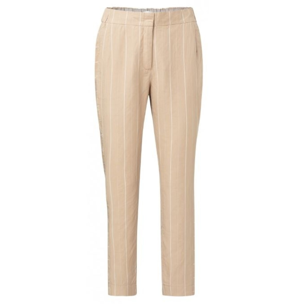 STRIPED RELAXED PANTALON 121123-914