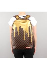 Drips Gold Checkered