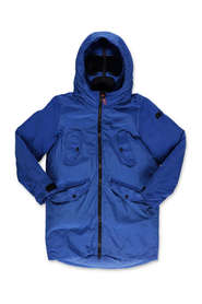 Parka jacket with hood