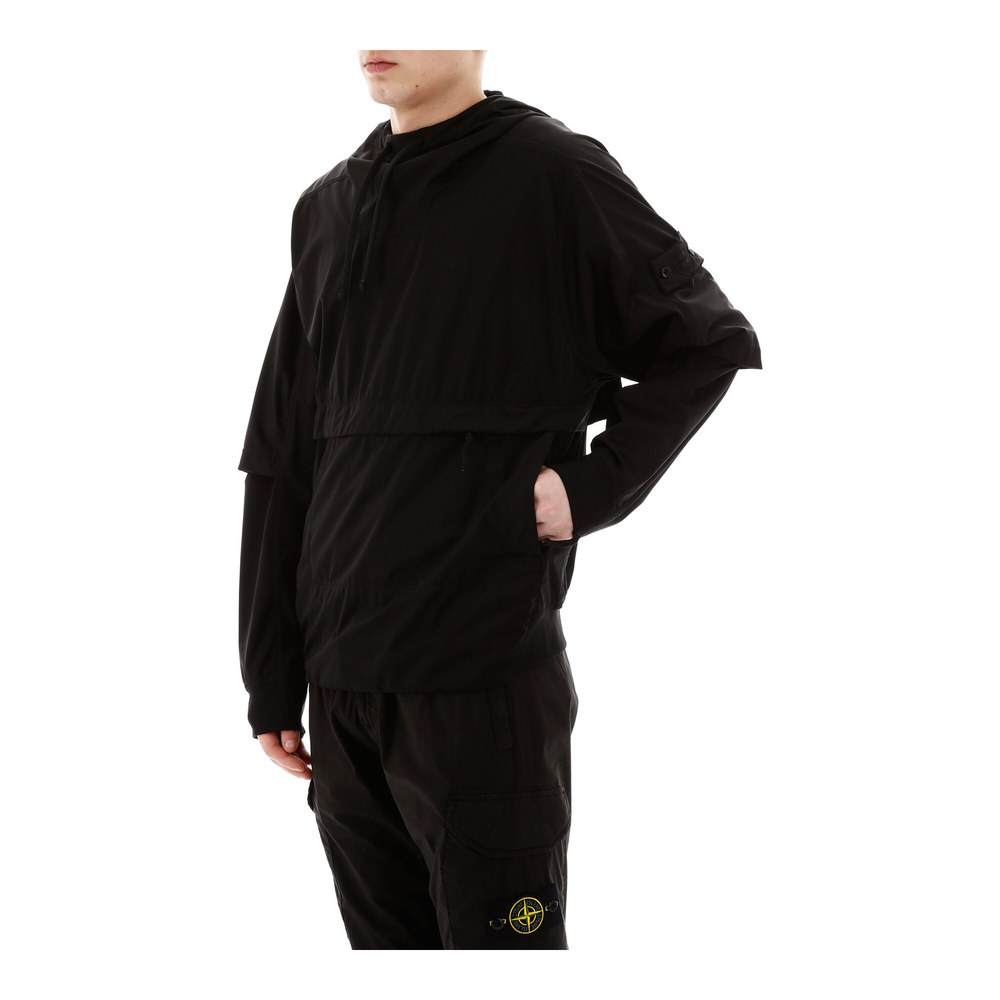 Stone Island Black Shadow project windproof soft shell-3l anorak Stone Island