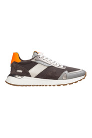 men's shoes leather trainers sneakers Miles