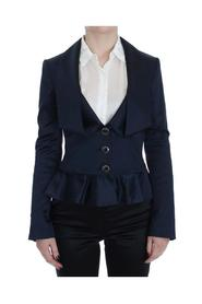 Three Button Single Breasted Blazer Jacket
