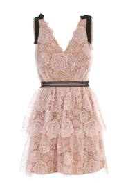 STARLET MINI MIDI LACE DRESS