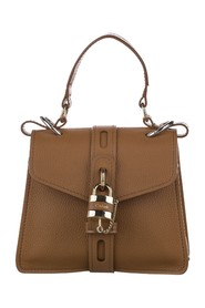 Small Aby Leather Satchel