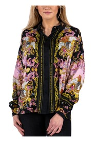 WDP211 Pannel Twill Blouse