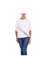 PINKO 1G13RK6835  Short sleeve Women White