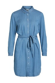 VIBISTA DENIM BELT DRESS/SU