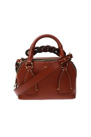 Daria leather shoulder bag