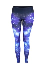 Blå Tessawear Galaxy tights