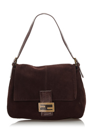 Suede Mommy Forever Leather Bag