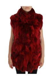 Coyote Fur Sleeveless Jacket