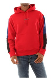 LEVIS 84238 0000 RACER HIT DH SWEATER Men RED