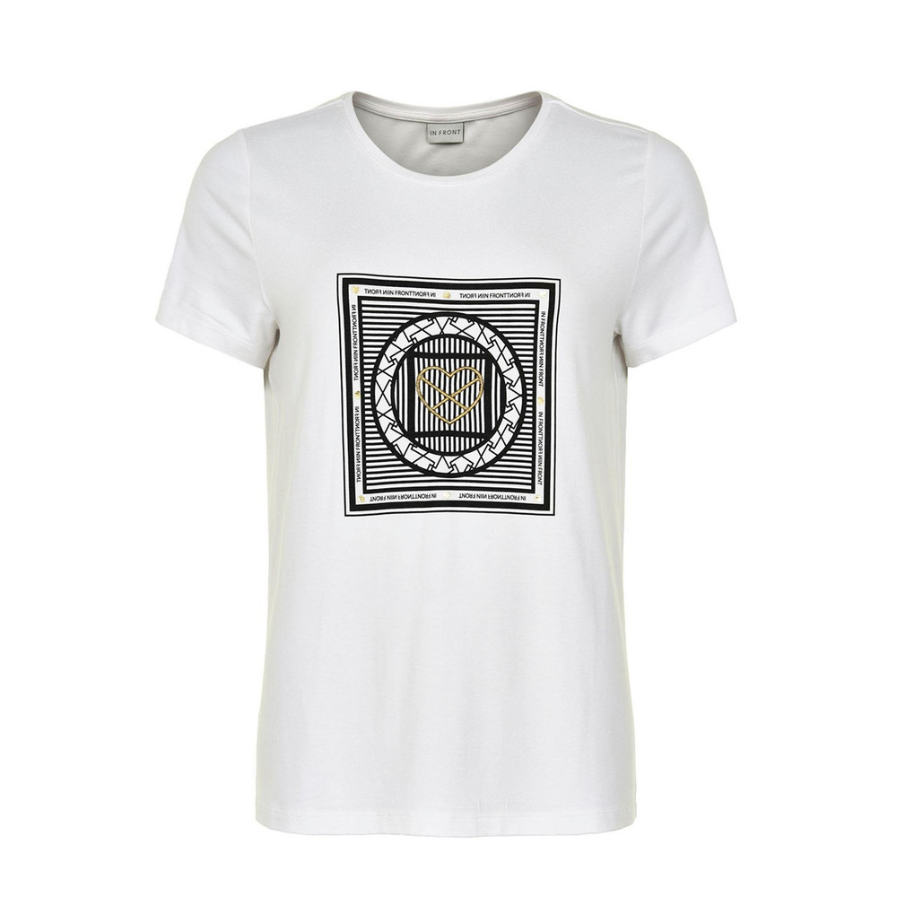 White T-shirt 13733  IN FRONT  T-shirts