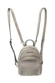 Leather Abbey Studded Backpack
