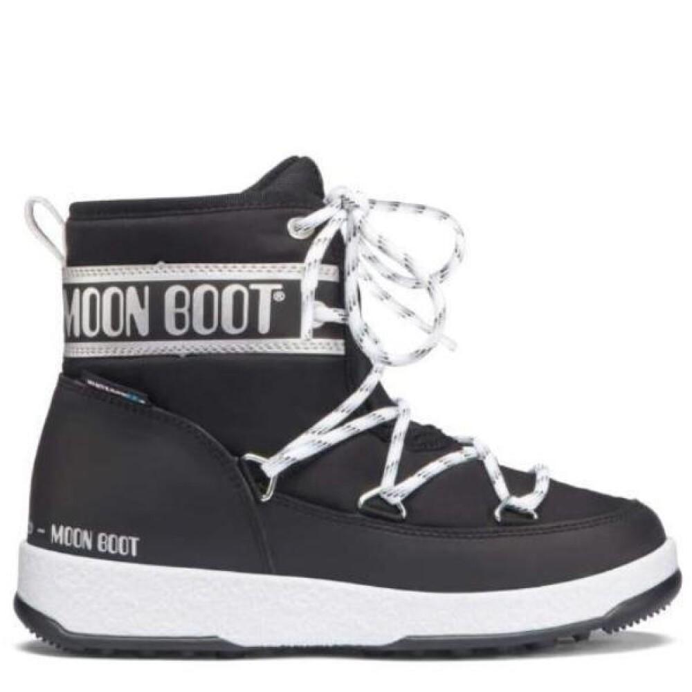 Moon Boot Vinterstøvler, JR Girl Soft WP Black Copper