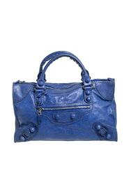 Brukt Leather Giant Brogue Work Tote
