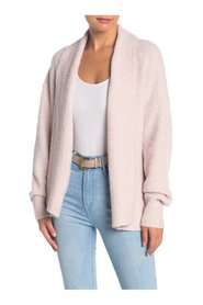 Sweater Cardigan Fuzzy Knit