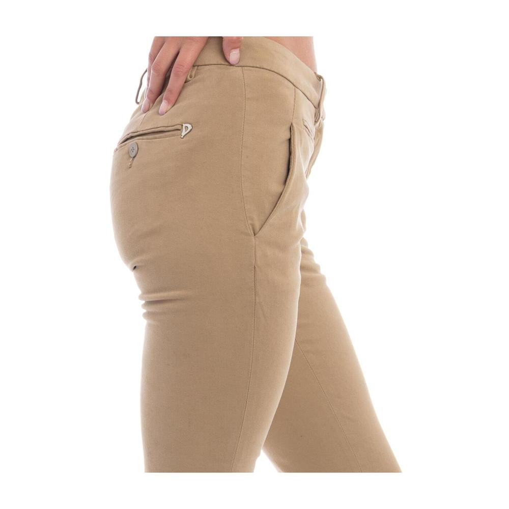 Dondup Beige PERFECT TROUSERS Dondup