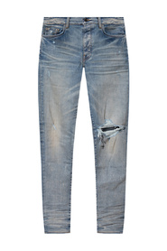 Jeans with vintage effect