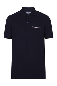 relaxed fit polo
