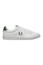 men's schoenen leather trainers sneakers b721