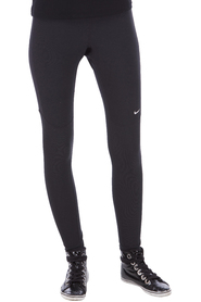 NIKE - LANG TIGHT - SORT