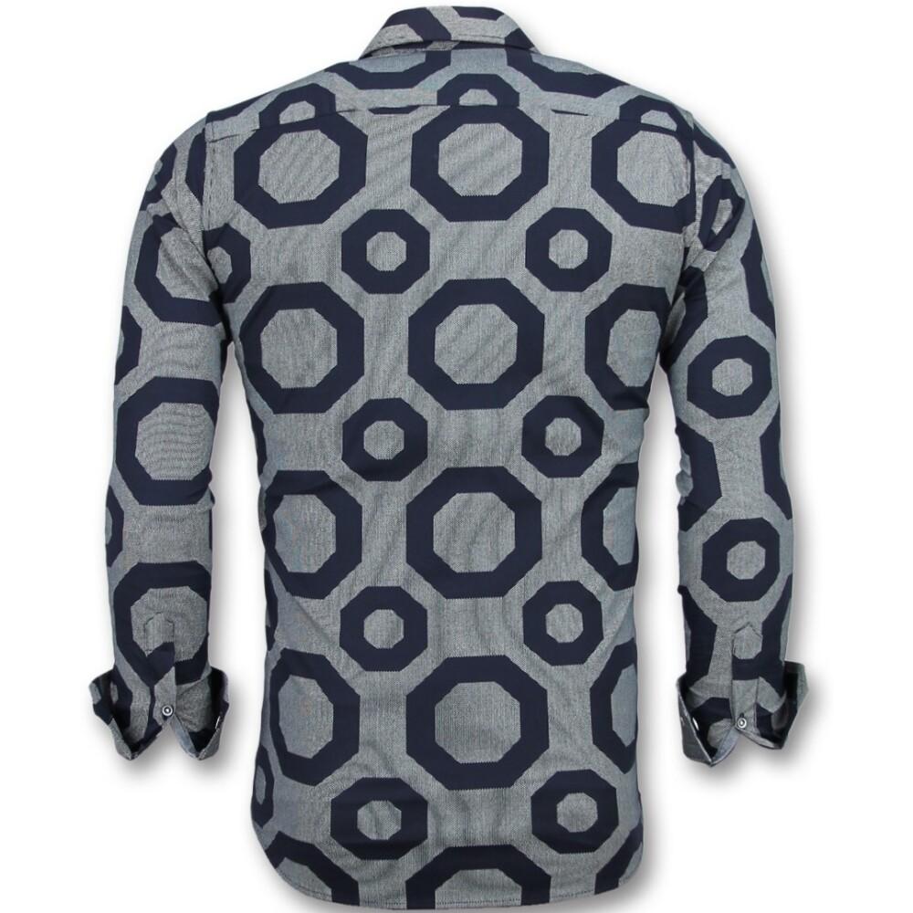 Gray Business Overhemden | Tony Backer | Casual Overhemden | Herenkleding