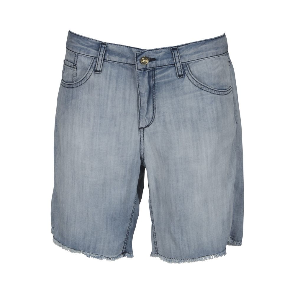 Line Of Oslo Detroite Tencel Shorts Grå