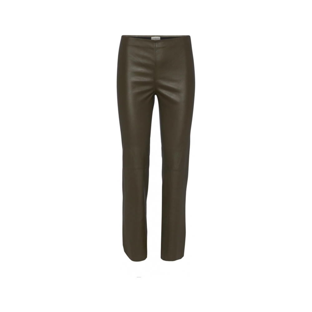 Norr Celia stretch leather pants