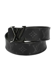 Pre-owned Monogram Eclipse Initiales Belt Canvas