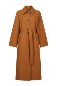 Sade Wool Long Coat