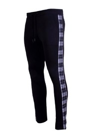 Trackpants Flannel Black/White