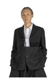 Jacket with inserts